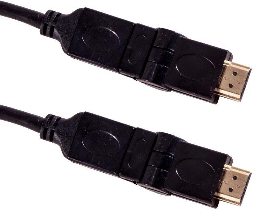 Kabel Esperanza HDMI - HDMI 1.5m czarny (EB196 - 5901299947777) 1