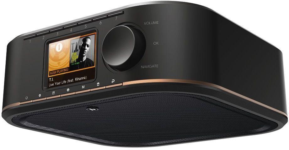 Radio Hama IR350 internetowe, Spotify, czarne (000548440000) 1