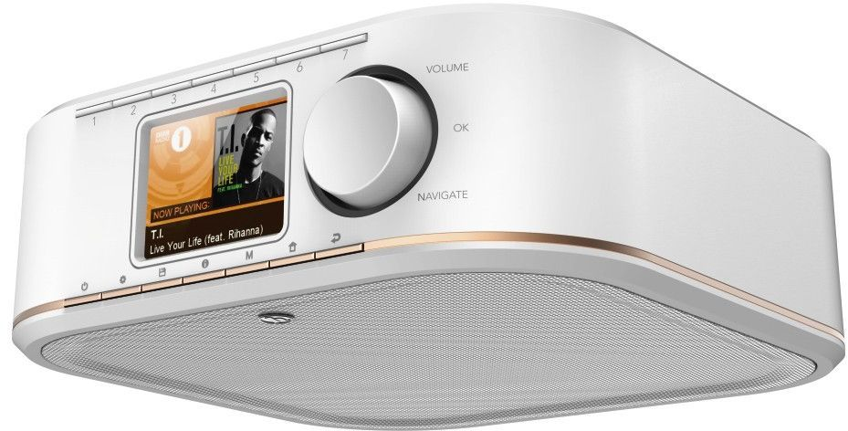 Radio Hama INTERNETOWE IR350 BIAŁE (000548510000) 1