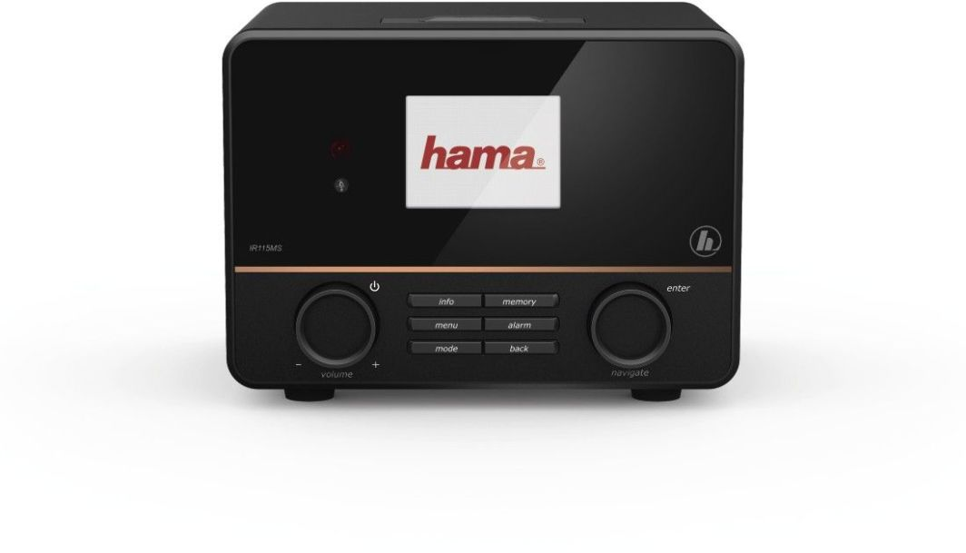Radio Hama INTERNETOWE IR115MS CZARNE (000548550000) 1