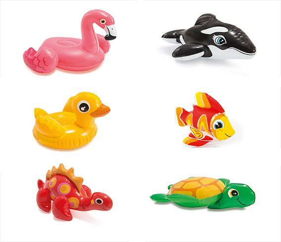 Intex Dmuchane zabawki - małe zwierzątka (58590NP) 1