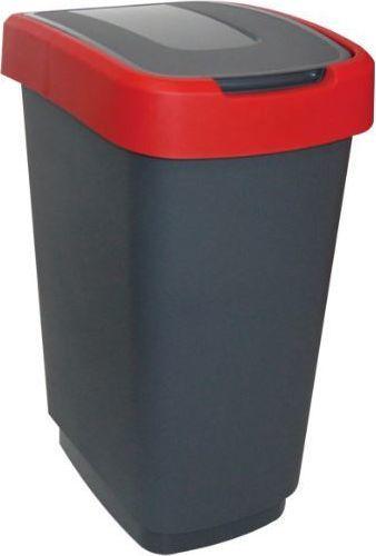 Kosz na śmieci Unimet Klip do segregacji uchylny 25L czerwony (POJ KLIP25CC) 1