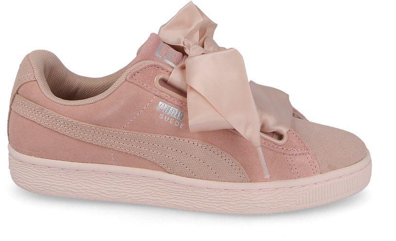 Puma Buty damskie Suede Heart Pebble różowe r. 37 12 (365210 01) ID produktu: 4030182