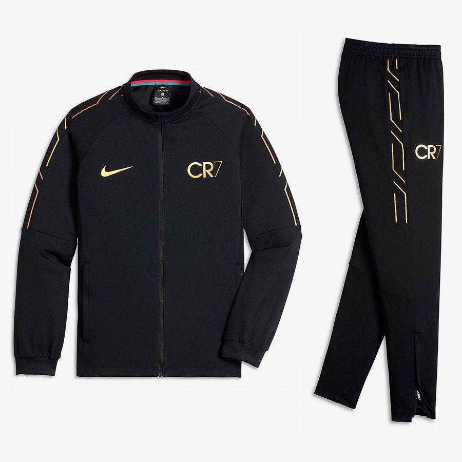 3c256606e Nike Dres piłkarski Dry CR7 Academy czarny r. XS (122-128cm) (894878-010) w  Sklep-presto.pl