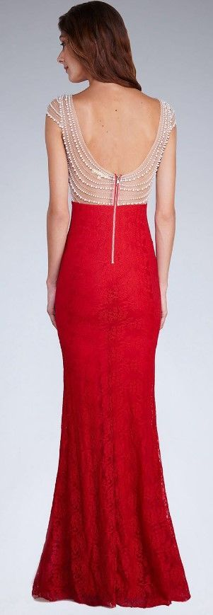 Soky&Soka Sukienka czerwona r. M (15957) 1