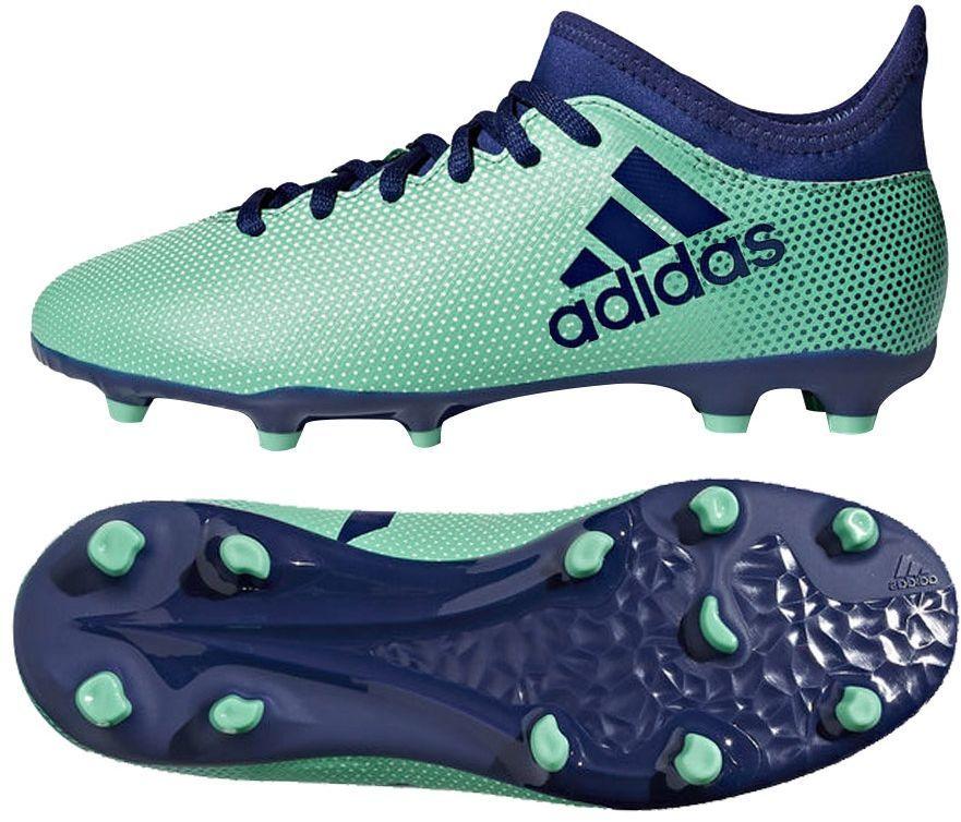 huge selection of 9ba0f d65ef Adidas Buty piłkarskie X 17.3 FG J zielone r. 38 (CP8993) w Sklep-presto.pl
