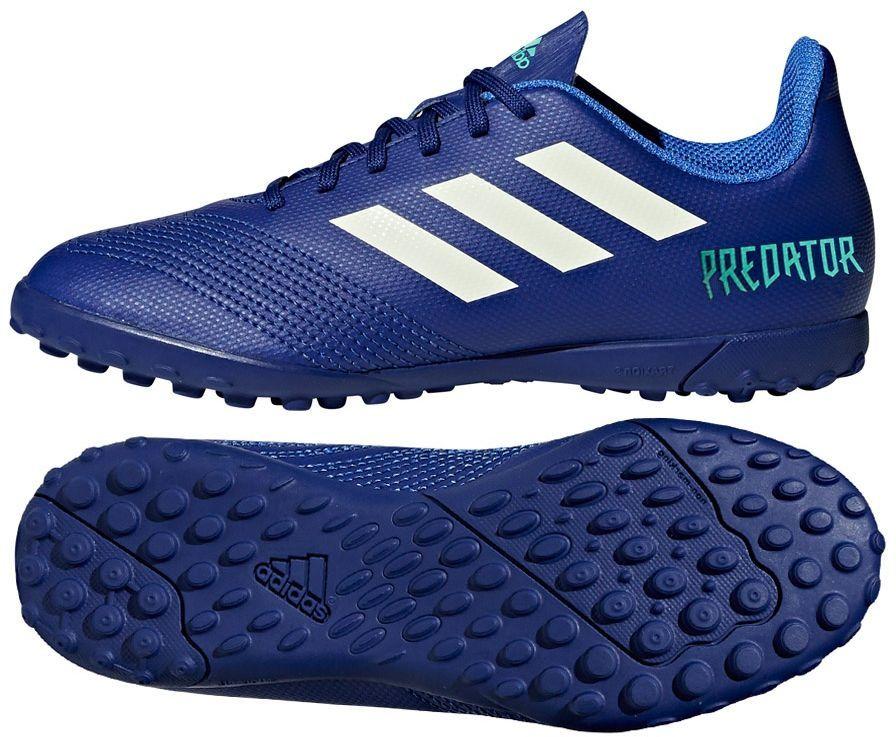 Adidas Buty piłkarskie Predator Tango 18.4 TF niebieskie r. 38 23 (CP9097) ID produktu: 4050107