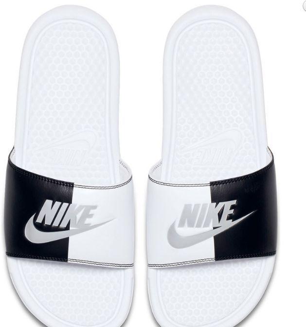 298bb8b74de85 Nike Klapki damskie Benassi Just Do It białe r. 42 (343881 104) w Sklep -presto.pl