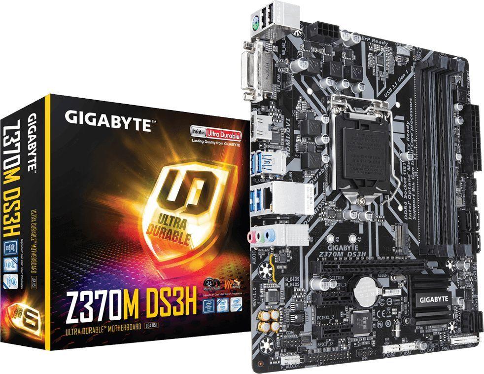 Płyta główna Gigabyte Z370M DS3H 1