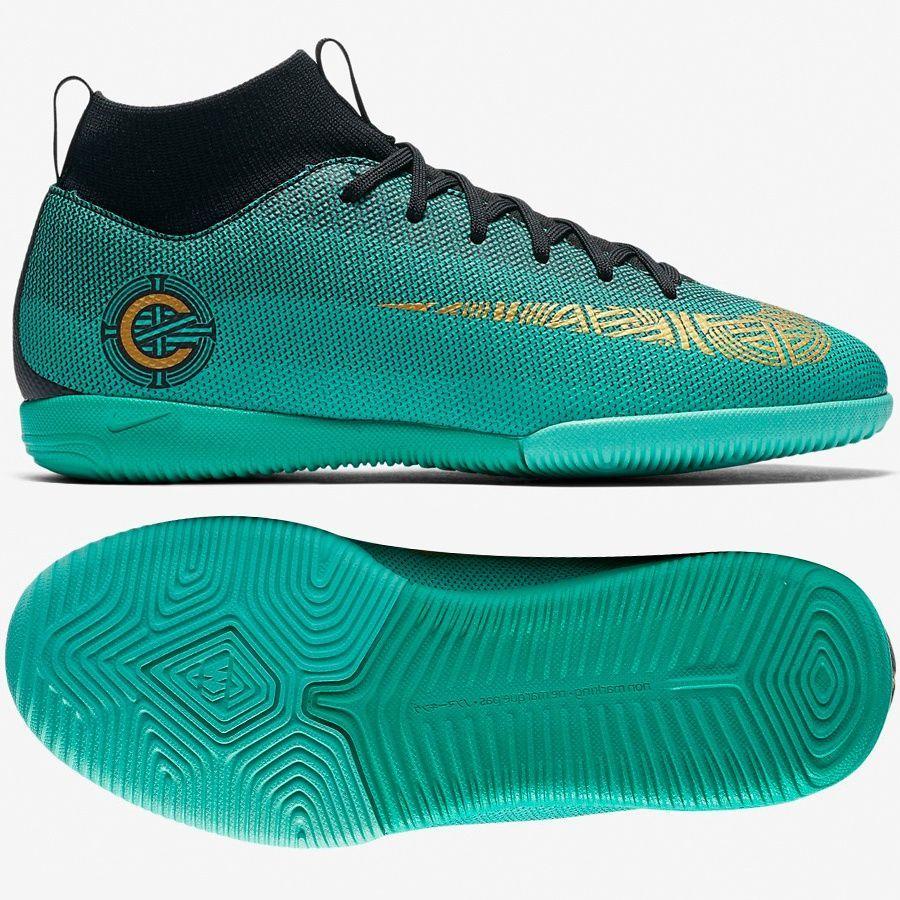 Nike Buty piłkarskie Mercurial Superfly 6 Academy GS CR7 IC J zielone r. 36.5 (AJ3110 390) ID produktu: 4056227