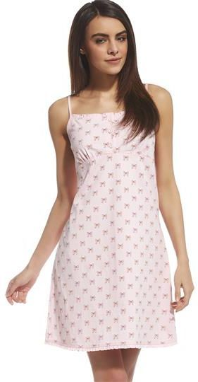 Cornette Koszulka nocna Emy 613/113 różowa r. XL 1