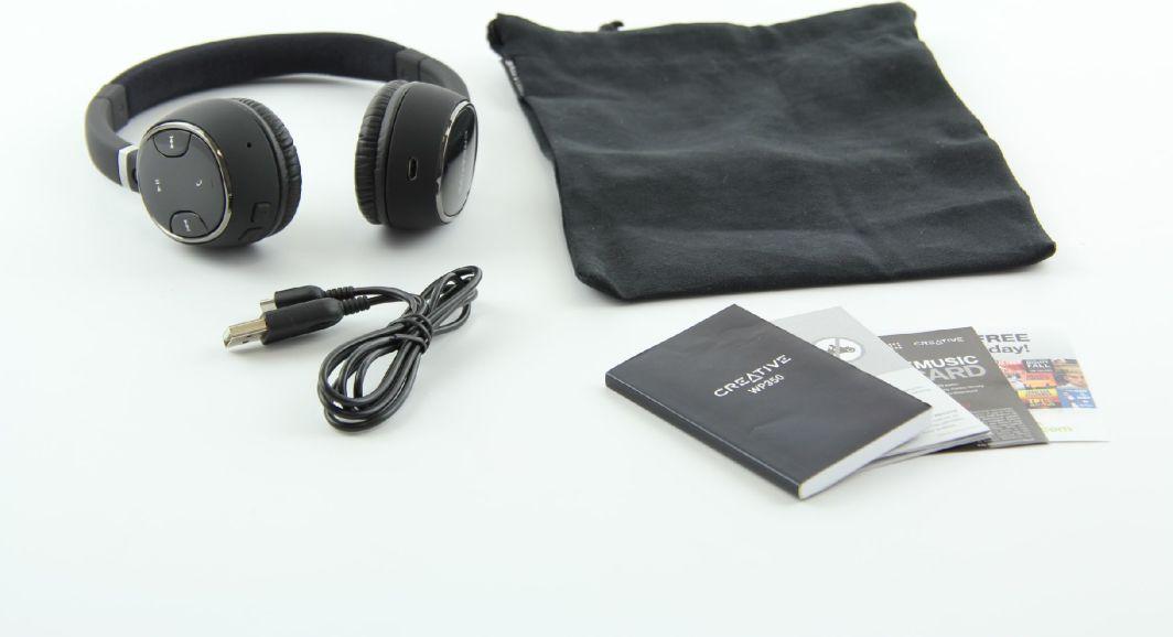 Słuchawki z mikrofonem Creative WP 350 (51EF0490AA001) ID produktu: 406245