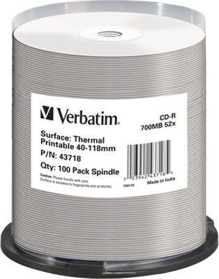Verbatim CD-R 700 MB 52x 100 sztuk (43718) 1