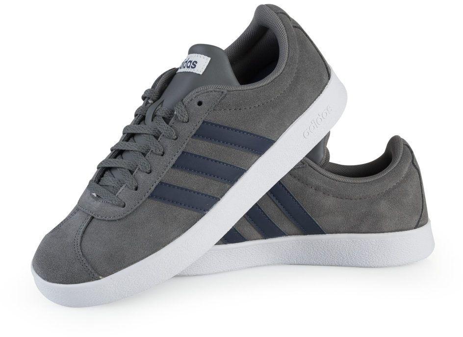 oryginalne buty największa zniżka ogromny zapas Adidas Buty męskie VL Court 2.0 szare r. 45 1/3 (DA9862) ID produktu:  4067350