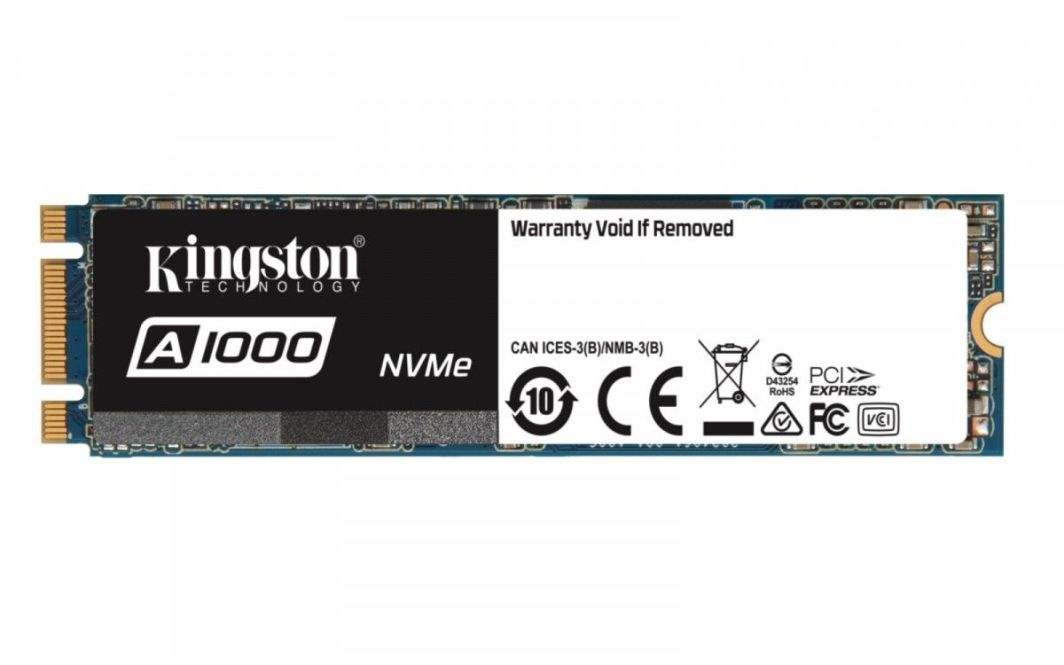 Dysk SSD Kingston 480 GB M.2 2280 PCI-E x2 NVMe (SA1000M8/480G) 1