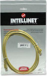 Intellinet Network Solutions Intellinet patch cord RJ45, snagless, kat. 6 UTP, 3m żółty (342377) 1
