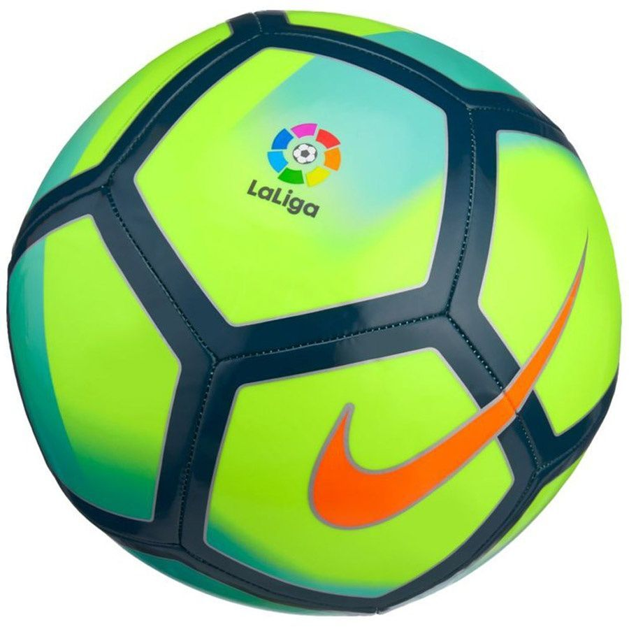 Nike Piłka nożna LaLiga Pitch żółta r. 5 (SC3138 702) 1