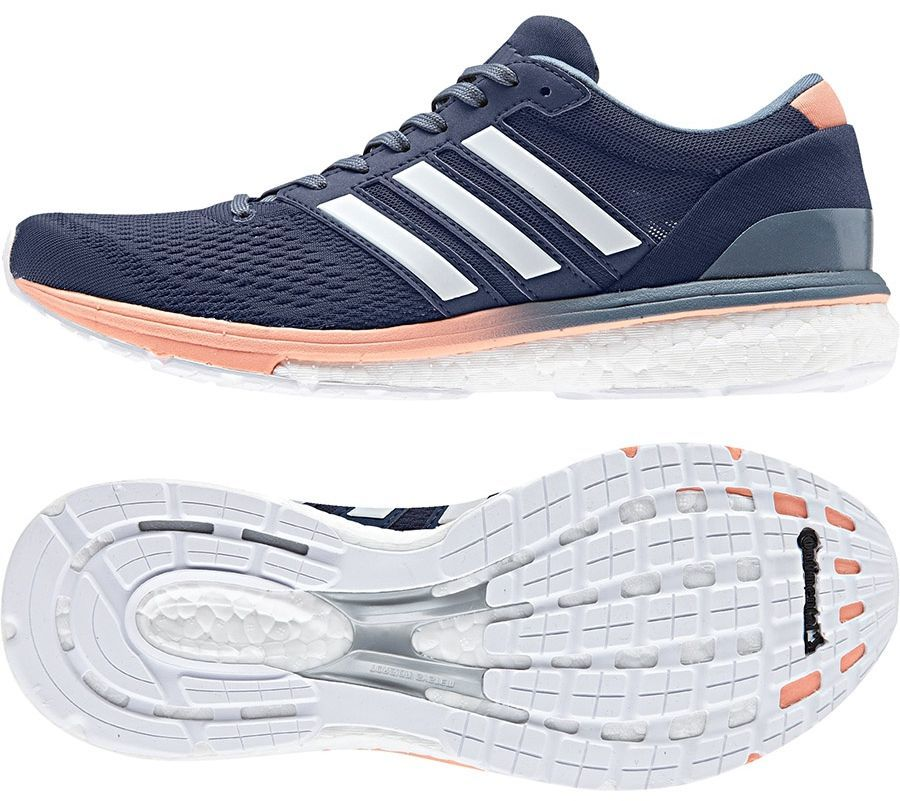 Adidas Buty damskie adizero boston 6 w niebieskie r. 38 23
