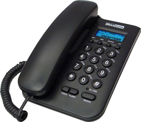 Telefon stacjonarny Maxcom KXT 100 Czarny  1