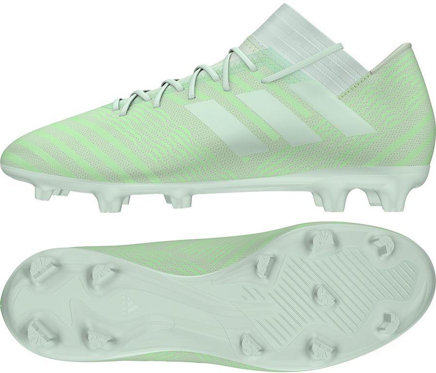 cbf96fa50 Adidas Buty piłkarskie Nemeziz 17.3 FG zielone r. 44 2/3 (CP8989) w  Sklep-presto.pl