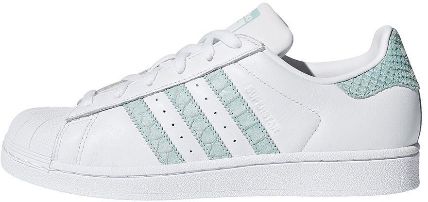 Adidas Buty damskie Superstar biało zielone r. 38 23 (CG5461) ID produktu: 4092485