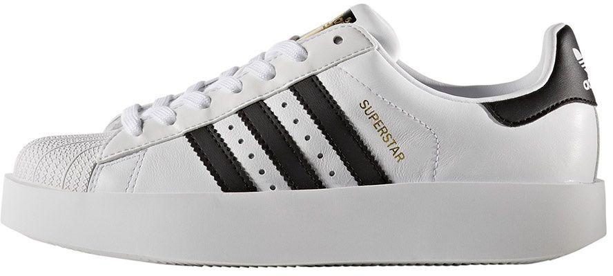 ekskluzywne oferty kupić popularna marka Adidas Buty damskie Superstar Bold białe r. 39 1/3 (BA7666) ID produktu:  4092548