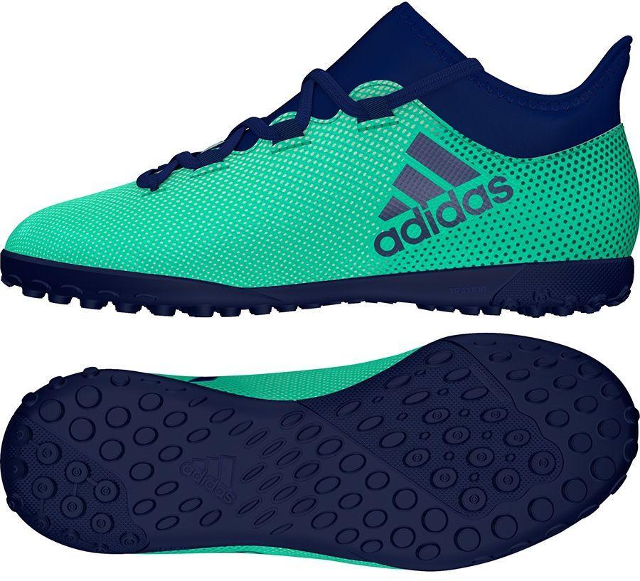 7240b4b7858b9 Adidas Buty piłkarskie X Tango 17.3 TF Jr zielone r. 32 (CP9027) w Sklep -presto.pl