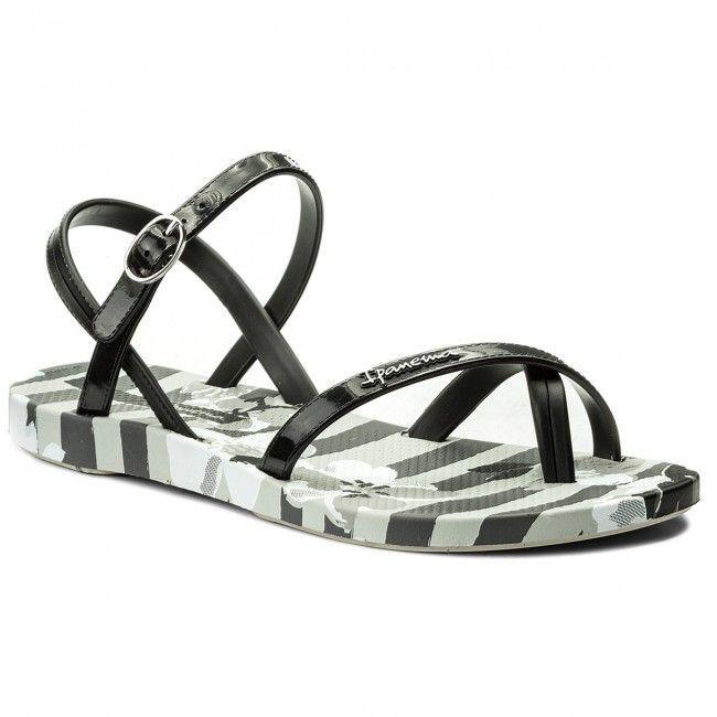 Ipanema Sandały damskie Fashion Sandal V Fem szaro-czarne r. 35/36 1