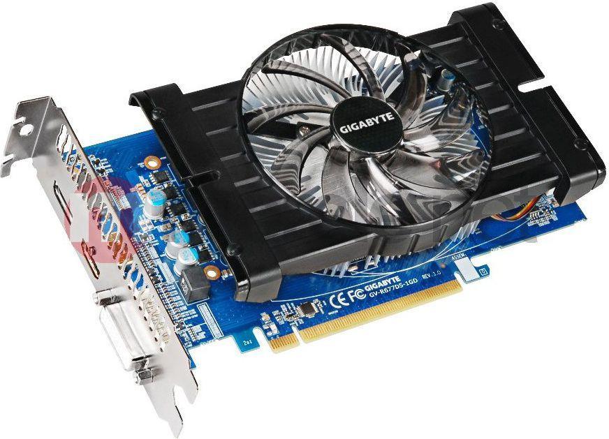Karta graficzna Gigabyte Radeon HD 6770 (GV-R677D5-1GD) 1