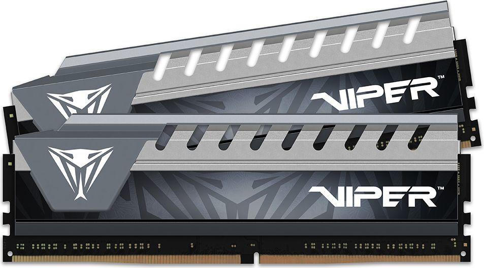 Pamięć Patriot Viper Elite, DDR4, 8 GB, 2666MHz, CL16 (PVE48G266C6KGY) 1