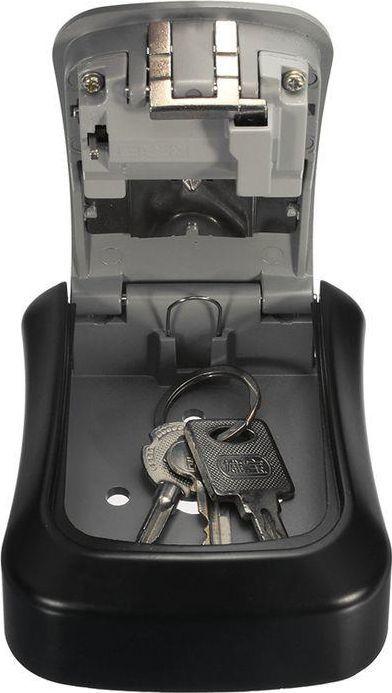 iBOX Sejf na klucze ISNK-01 z zamkiem szyfrowym szary (IBOX ISNK-01) 1