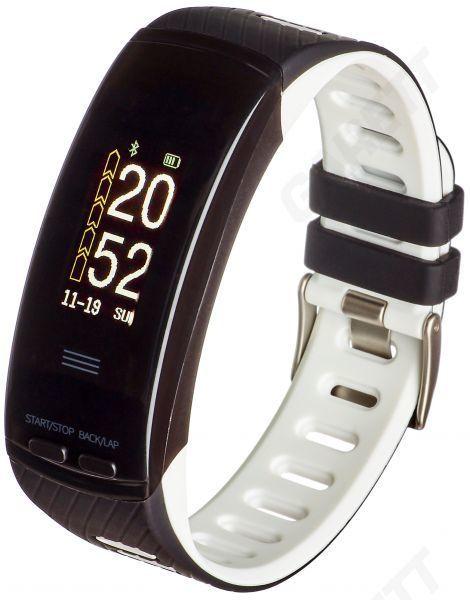 Smartband Garett Electronics Fit 23 GPS Czarny Biały 1