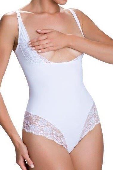 Eldar Body wyszczuplające Vanilia białe r. XL 1