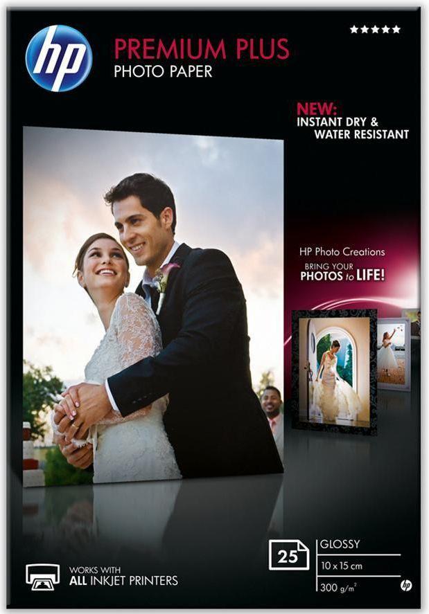 HP Premium Plus Glossy A6 (CR677A) 25 ark 1
