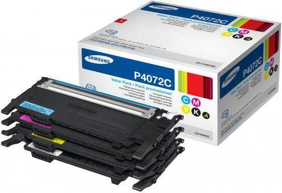 Samsung tonery CLTP-4072C RainbowKit (cyan,magenta, yellow,black) 1