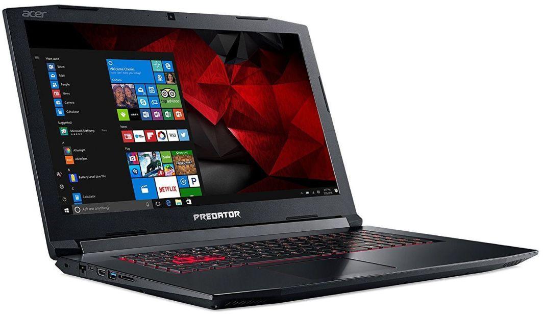 Laptop Acer Predator Helios 300 (NH.Q3DEP.005) 8 GB RAM/ 128 GB M.2 PCIe/ 256 GB SSD/ Windows 10 Home PL 1
