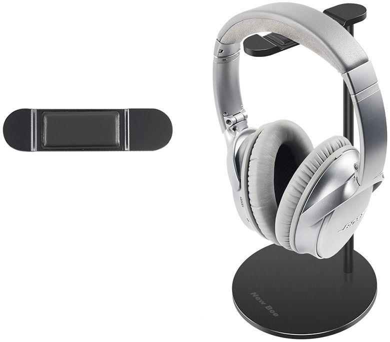New Bee Stojak na słuchawki Premium czarny (NB-PREMIUM-BK) 1