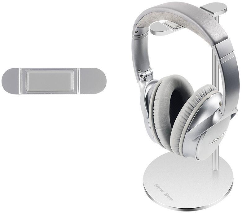 New Bee Stojak na słuchawki Premium srebrny (NB-PREMIUM-WH) 1