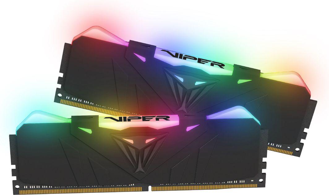 Pamięć Patriot Viper RGB, DDR4, 16 GB, 3000MHz, CL16 (PVR416G300C5K) 1