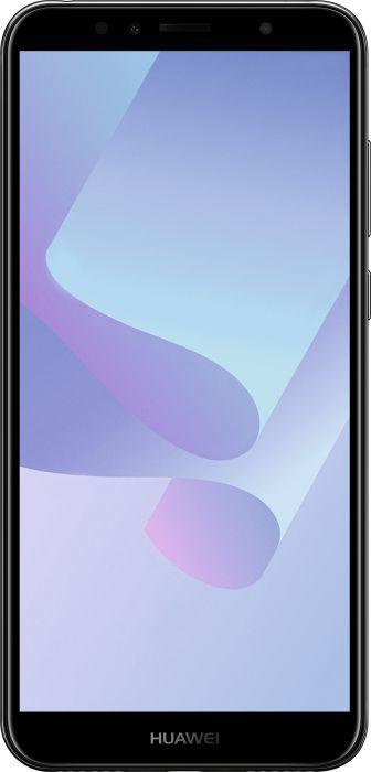 Smartfon Huawei Y6 2018 16 GB Dual SIM Czarny  (Y6 2018 Black) 1