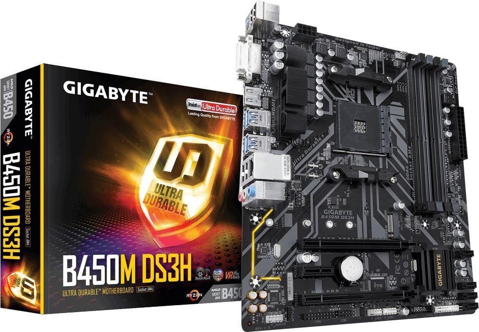 Płyta główna Gigabyte B450M DS3H 1