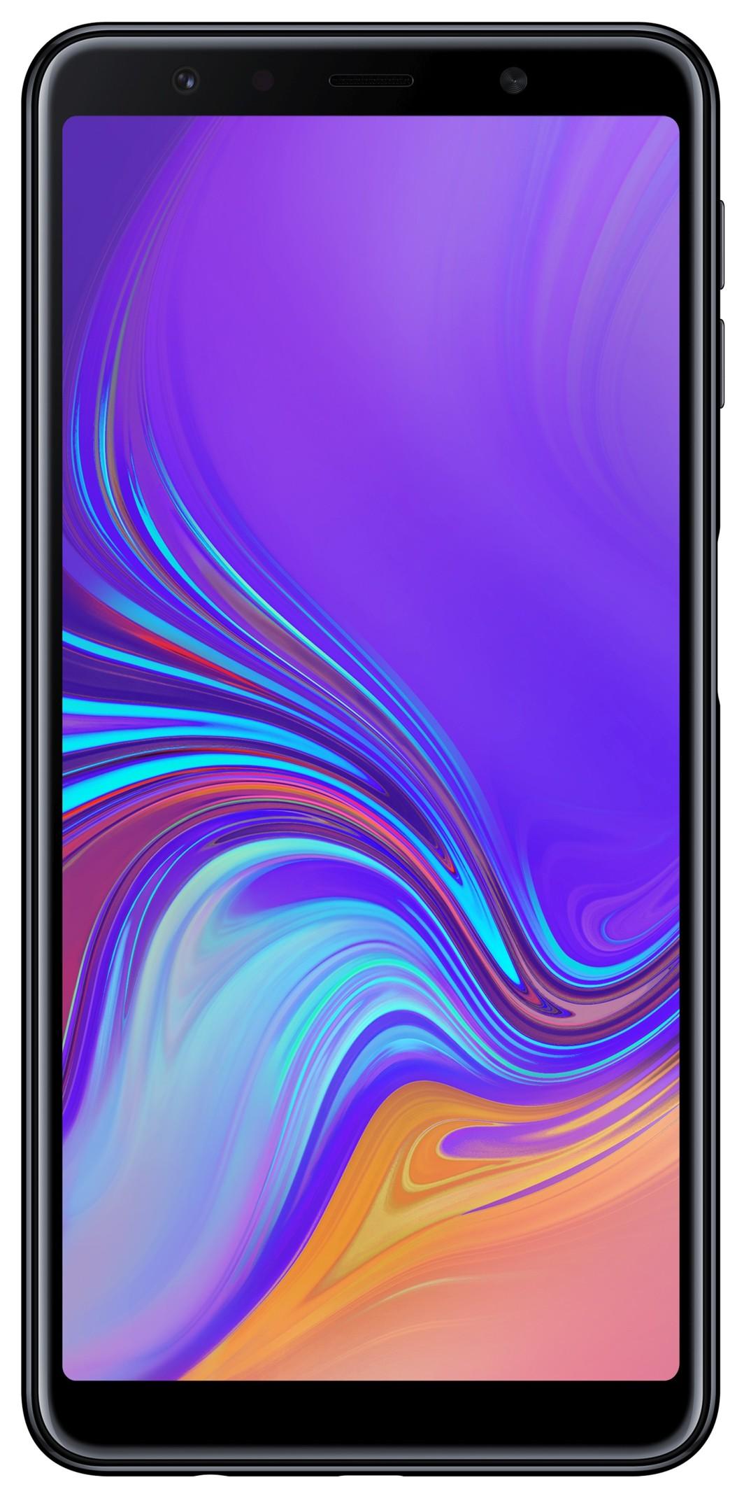 Smartfon Samsung Galaxy A7 2018 64 GB Dual SIM Czarny  (SM-A750FZKUXEO) 1
