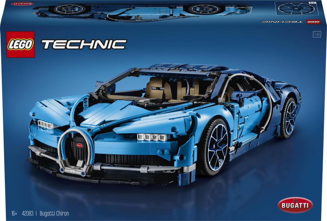 LEGO Technic Bugatti Chiron (42083) 1