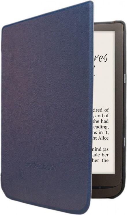 Pokrowiec PocketBook Etui shell Inkpad 3 niebieskie (WPUC-740-S-BL) 1