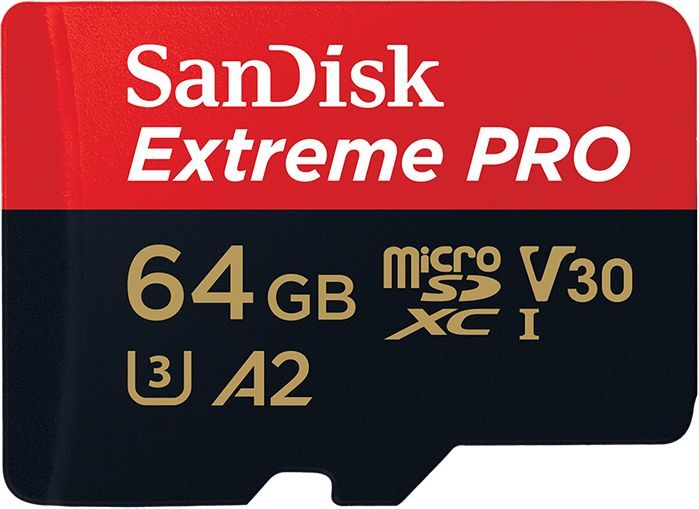 Karta SanDisk Extreme Pro MicroSD 64 GB Class 10 UHS-I/U3 A2 V30 (001835200000) 1