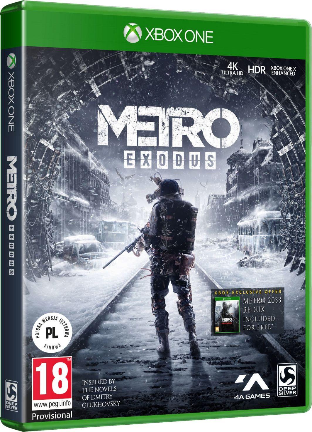 Metro Exodus Xbox One 1