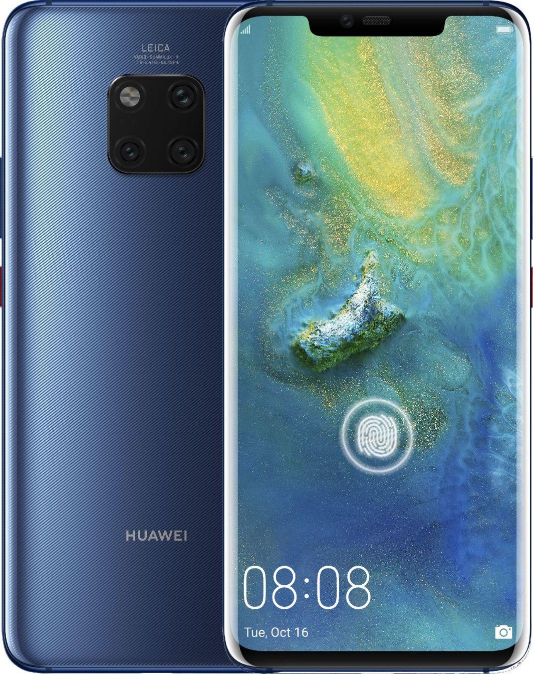 Smartfon Huawei Mate 20 Pro 6/128GB Dual SIM Niebieski  (51092XAM) 1