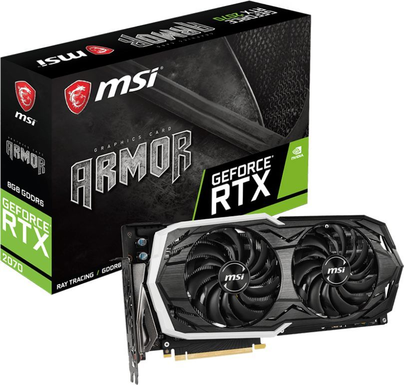 Karta graficzna MSI GeForce RTX 2070 Armor 8GB GDDR6 (RTX 2070 ARMOR 8G) 1