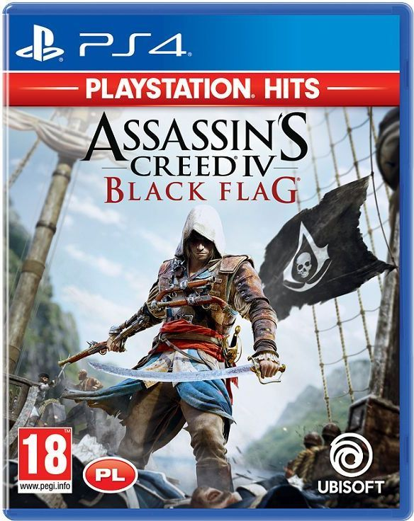 Assassin's Creed IV Black Flag PLAYSTATION HITS PS4 1