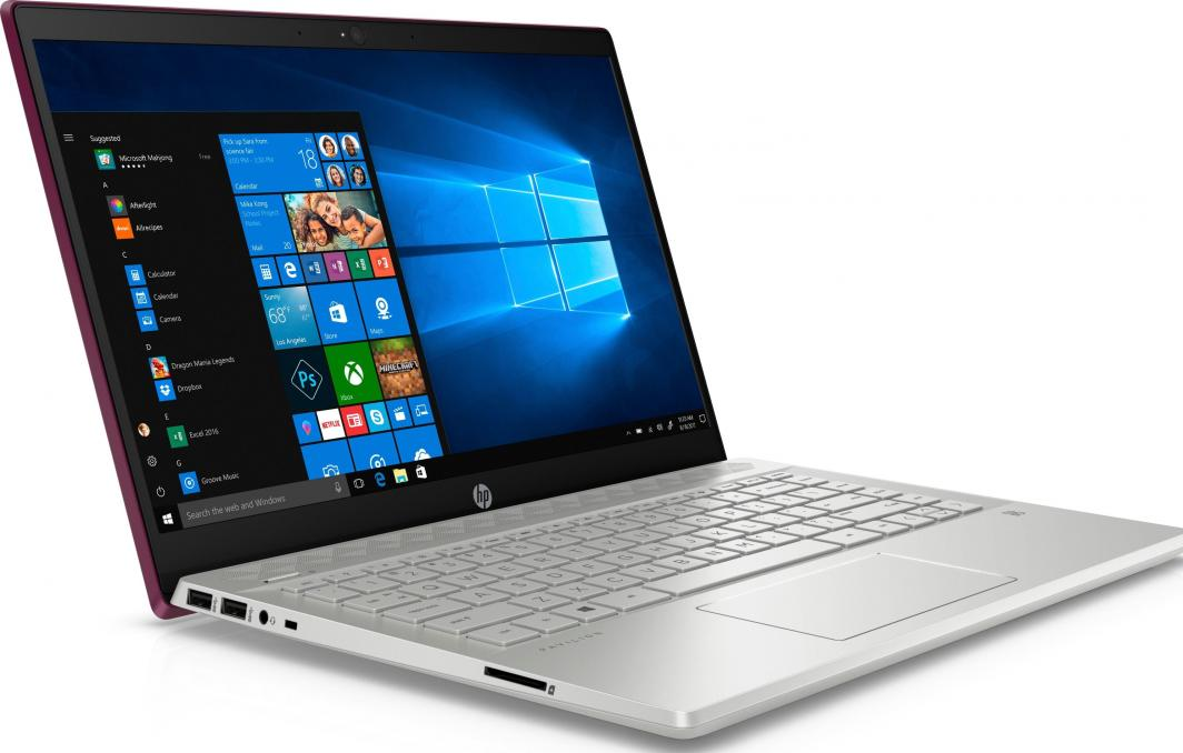 Laptop HP Pavilion 14-ce0010nw (4UG86EA) 16 GB RAM/ 256 GB M.2/ 480 GB SSD/ Windows 10 Home PL 1